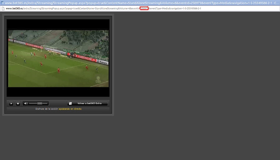 streaming bet365