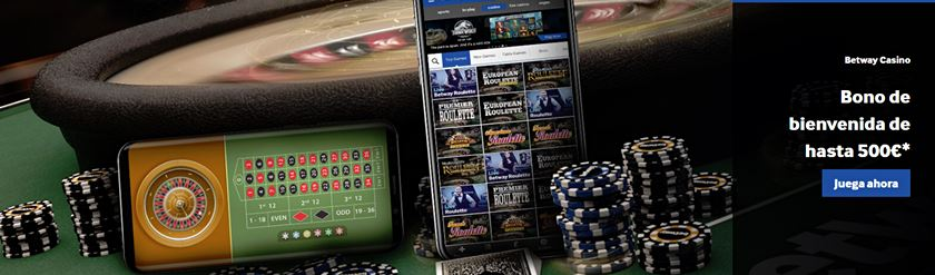 bono bienvenida a betway casino
