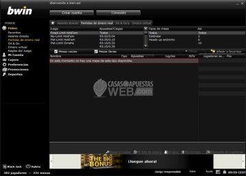 jugar con dinero real poker bwin