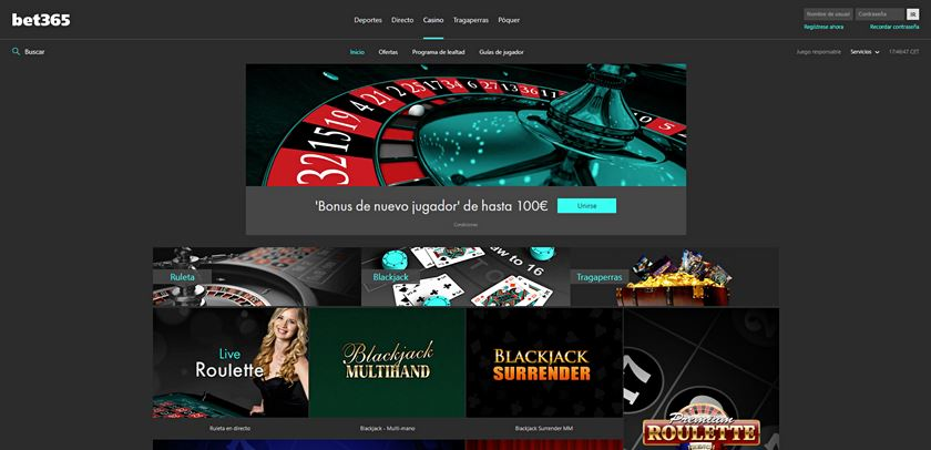 bet365 casino opiniones