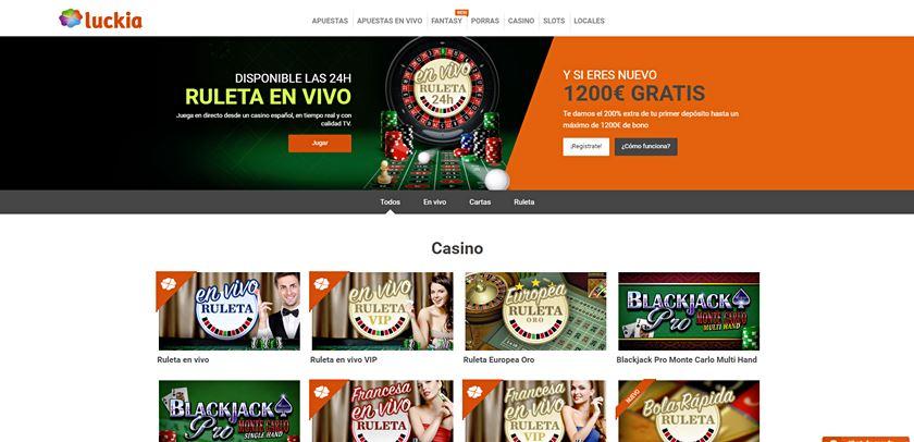 luckia casino opiniones