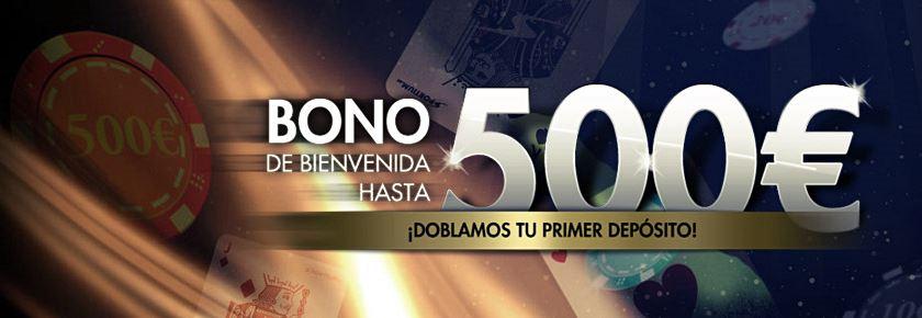 sportium casino bono 500