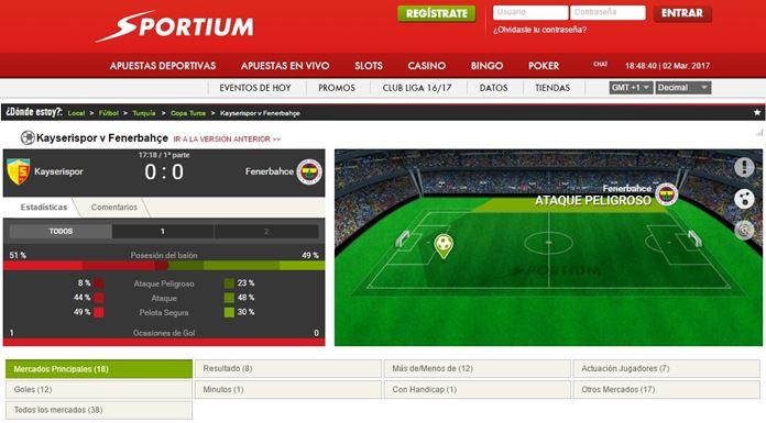 sportium live