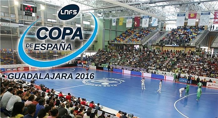 copa de españa de fútbol sala guadalajara 2016