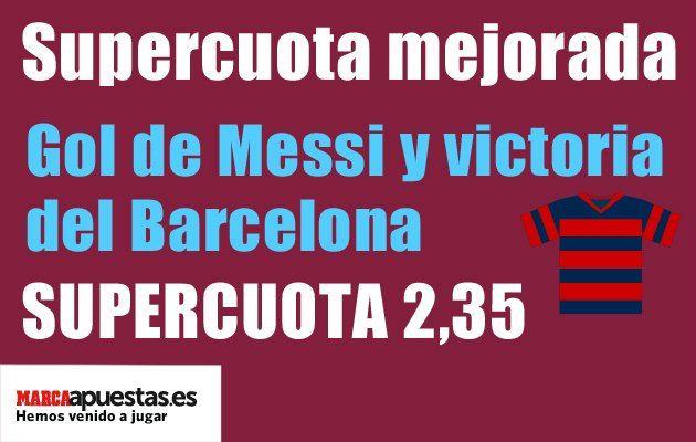Apuestas Messi Barça Atlético