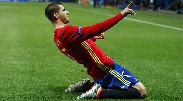 Álvaro Morata Selección Española