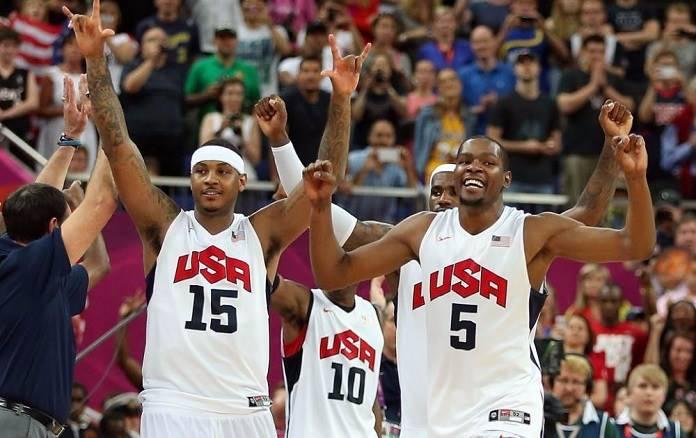USA basket Rio 2016
