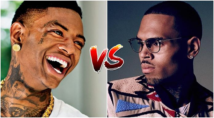 combate chris brown vs soulja boy
