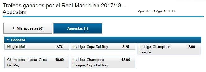 trofeos real madrid 2017-18