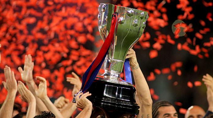 trofeo liga primera division españa