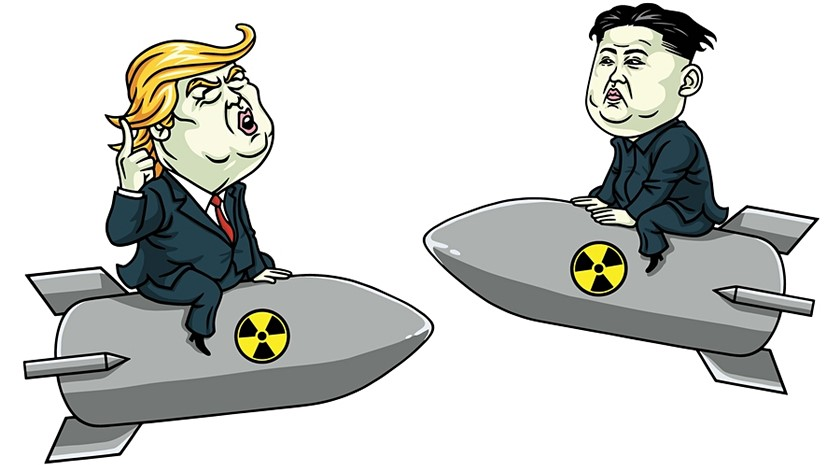 trump vs kim jong up