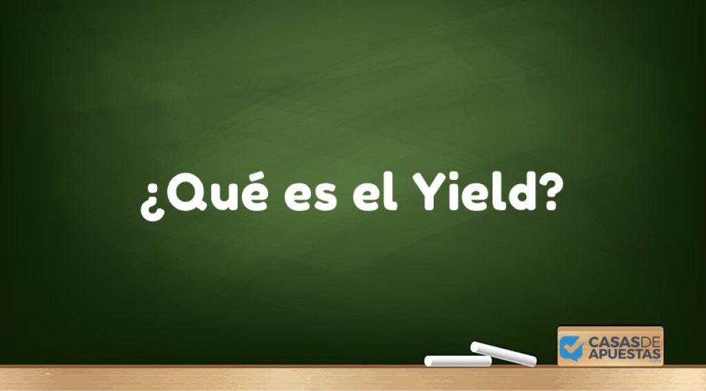 yield que es