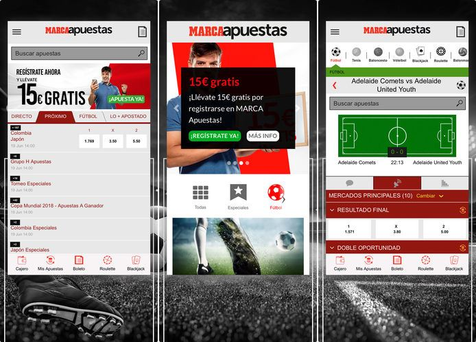 marca apuestas version movil