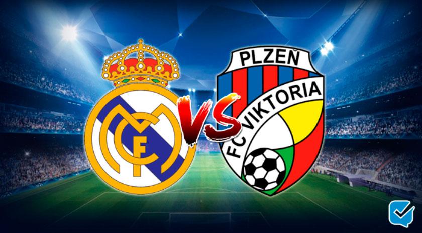 pronósticos Real Madrid vs Viktoria Plzen
