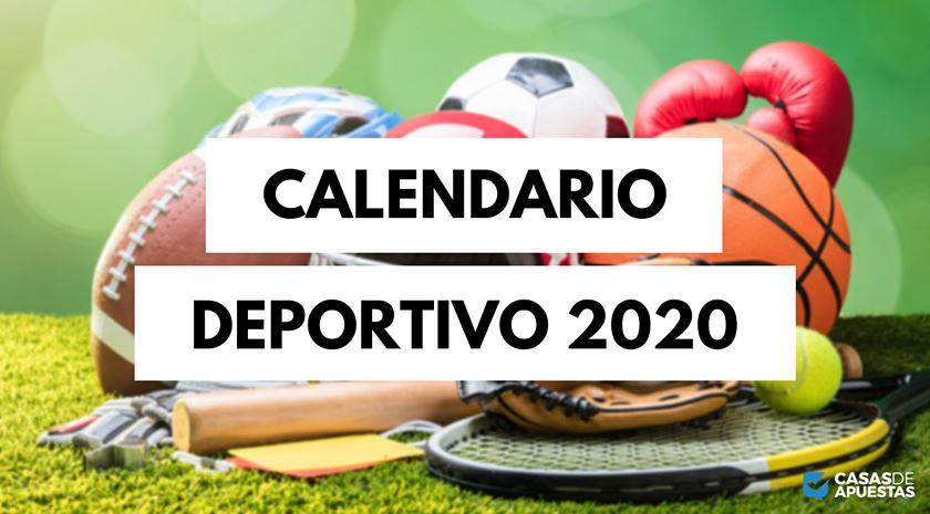 calendario deportivo