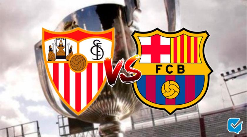 Pronóstico Sevilla - Barcelona de Copa del Rey | 10/02/2021