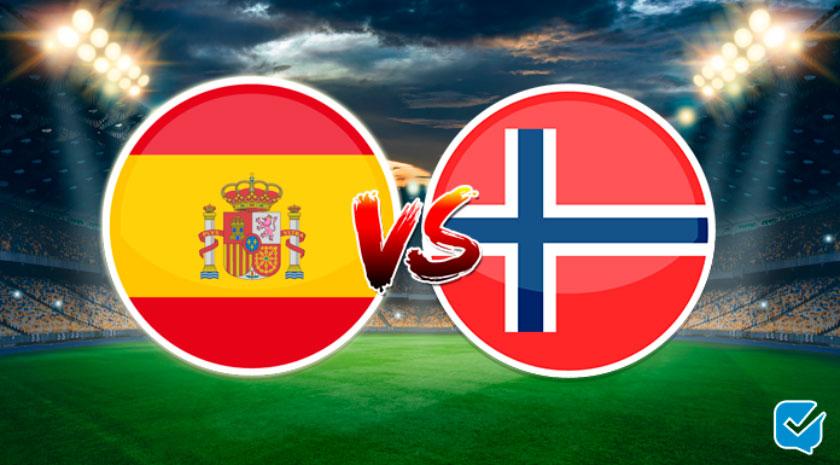 Pronósticos España - Noruega de clasificación para la Eurocopa