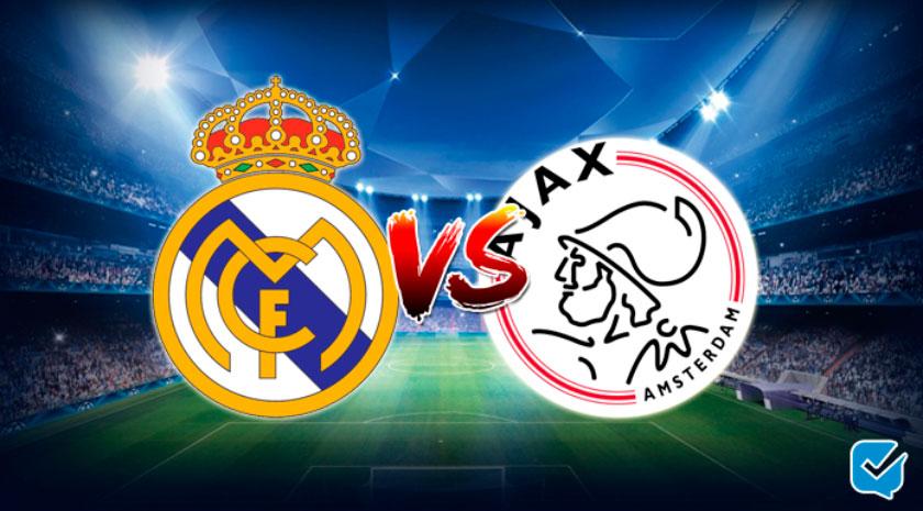 Pronósticos Real Madrid - Ajax de Champions League