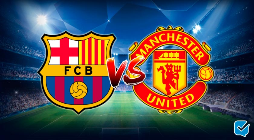 Pronósticos Barcelona – Manchester United de Champions League