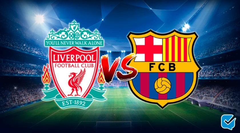 Pronósticos Liverpool – Barcelona de Champions League