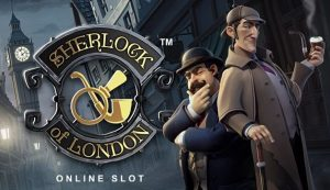 tragaperras Sherlock Of London
