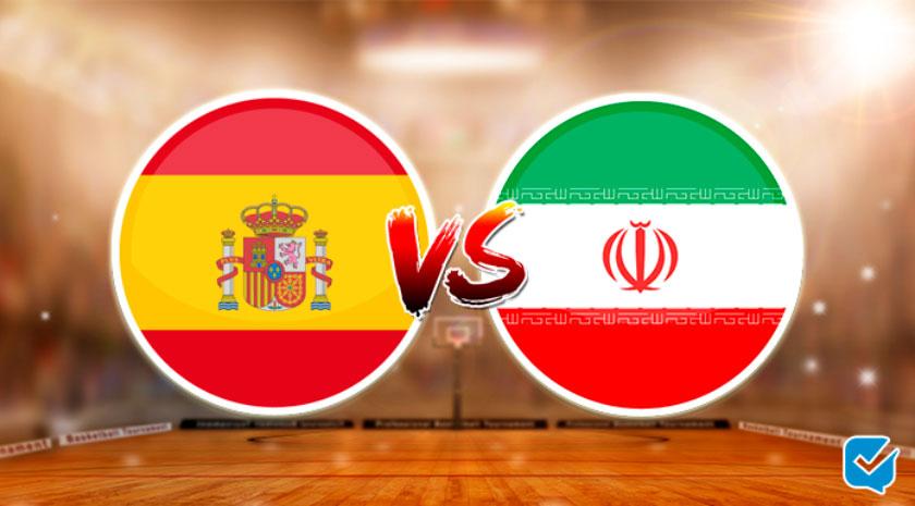 pronóstico españa vs irán mundial baloncesto