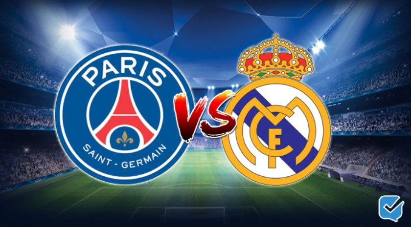 pronóstico psg real madrid champions league