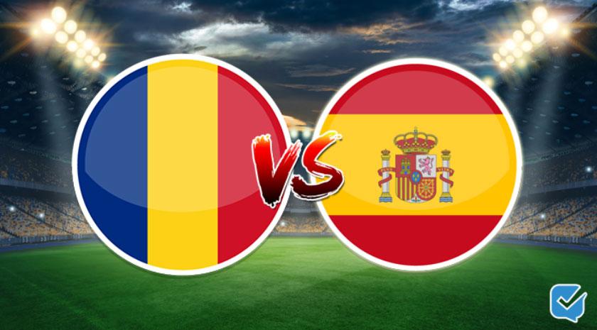 pronóstico rumanía vs españa clasificación eurocopa