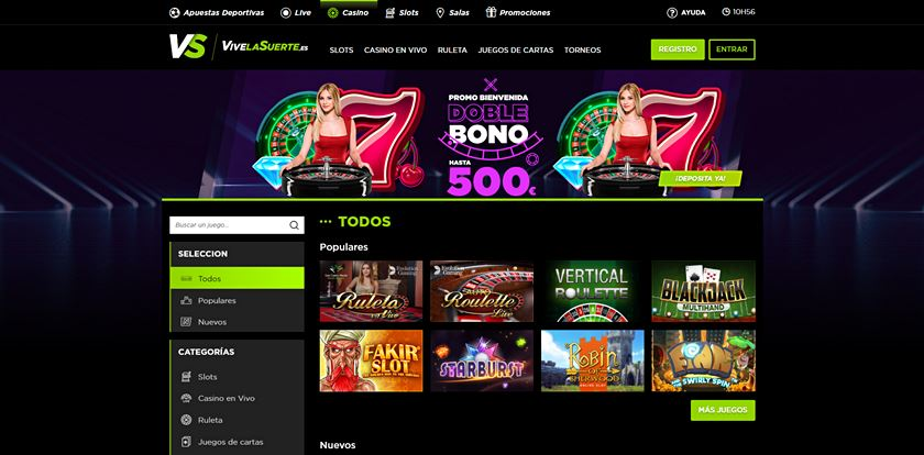 vivelasuerte casino