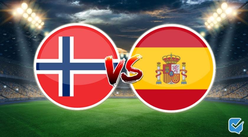 pronóstico noruega vs españa eurocopa