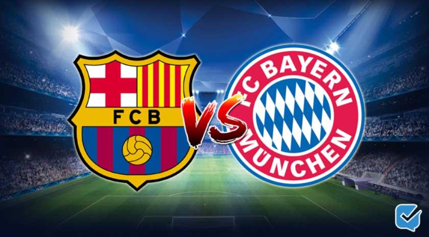 Pronóstico Barcelona - Bayern Múnich