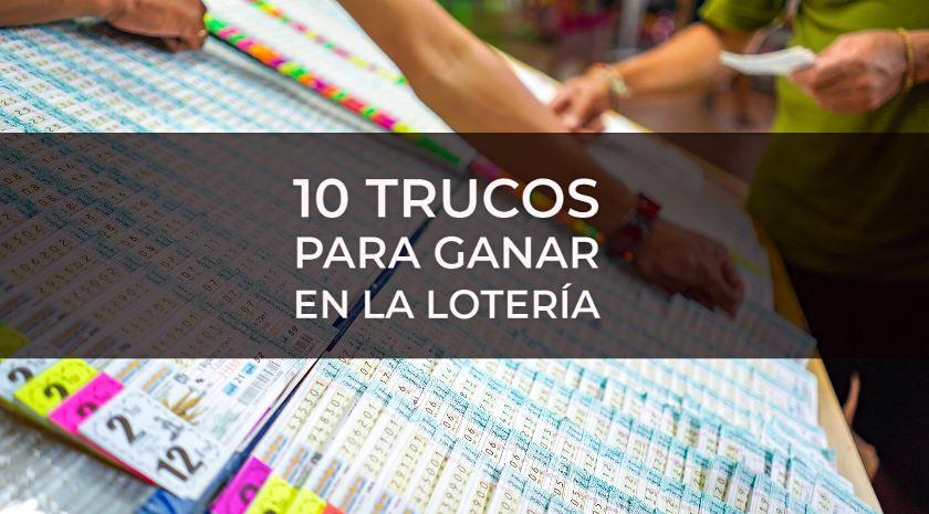 como ganar loteria