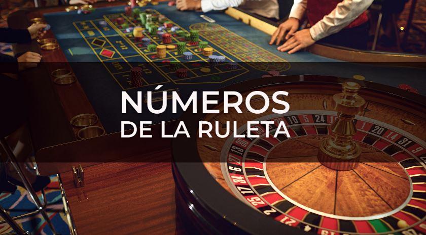 números de la ruleta