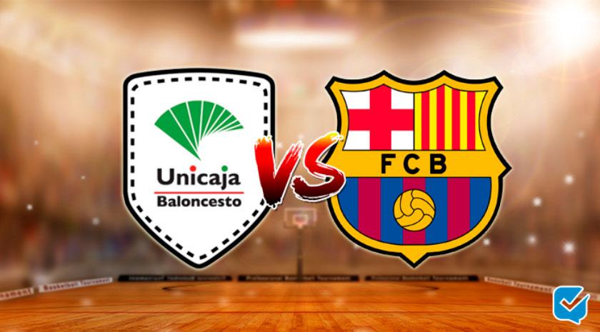 pronosticos unicaja malaga vs barcelona