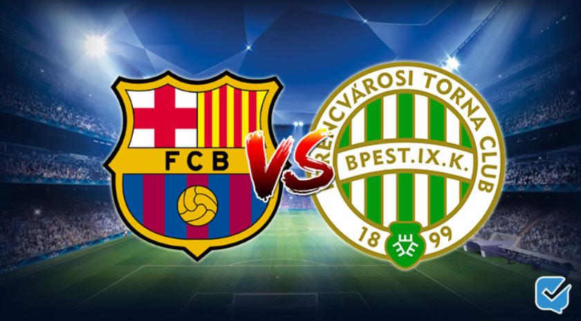 Pronóstico Barcelona – Ferencváros de Champions League