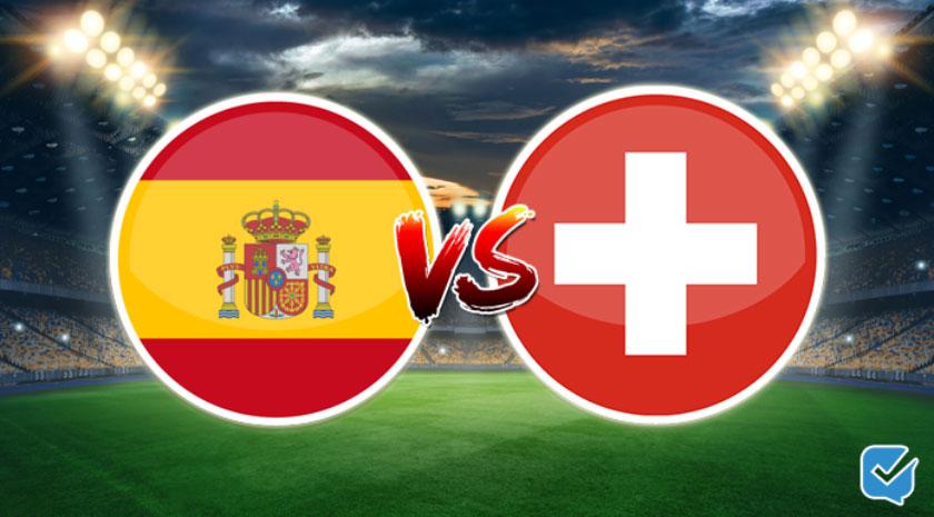 Pronósticos España vs Suiza Liga de Naciones
