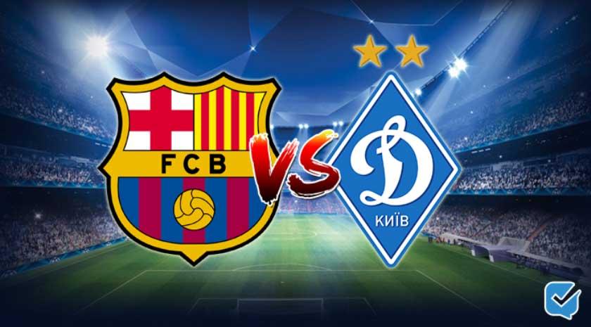 Pronóstico Barcelona – Dynamo Kiev de Champions League
