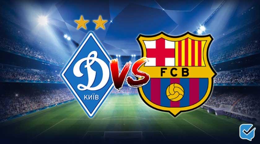 Pronóstico Dynamo Kiev – Barcelona de Champions League