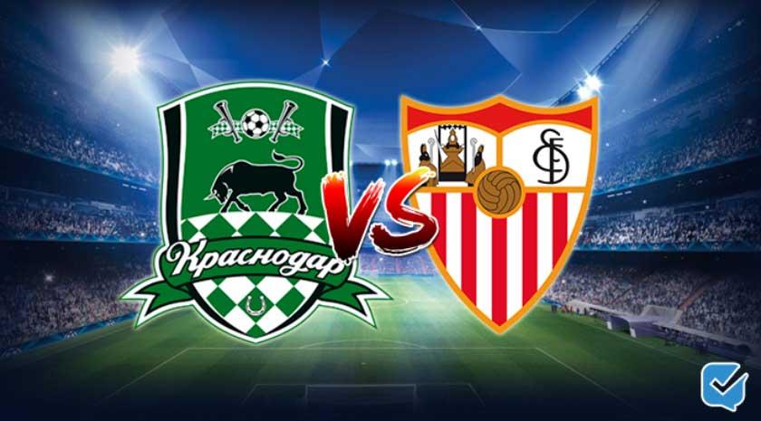 Pronóstico Krasnodar – Sevilla de Champions League