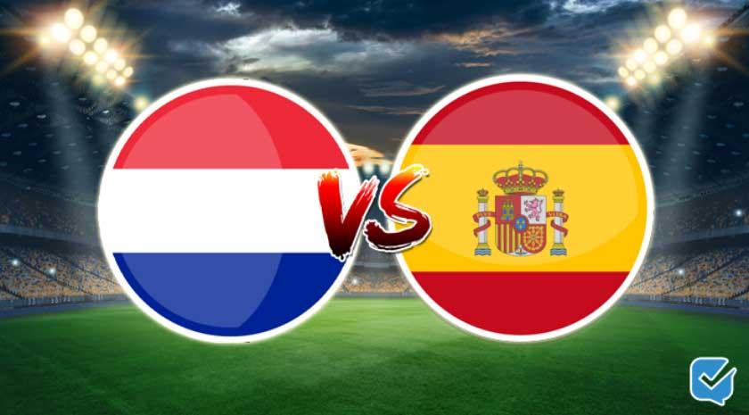 Pronósticos Países Bajos vs España