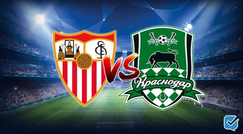 Pronóstico Sevilla – Krasnodar de Champions League