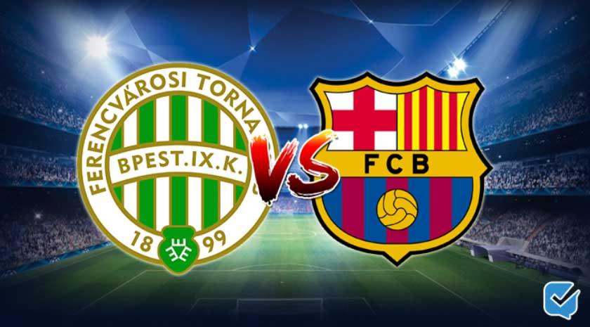 Pronóstico Ferencváros – Barcelona de Champions League