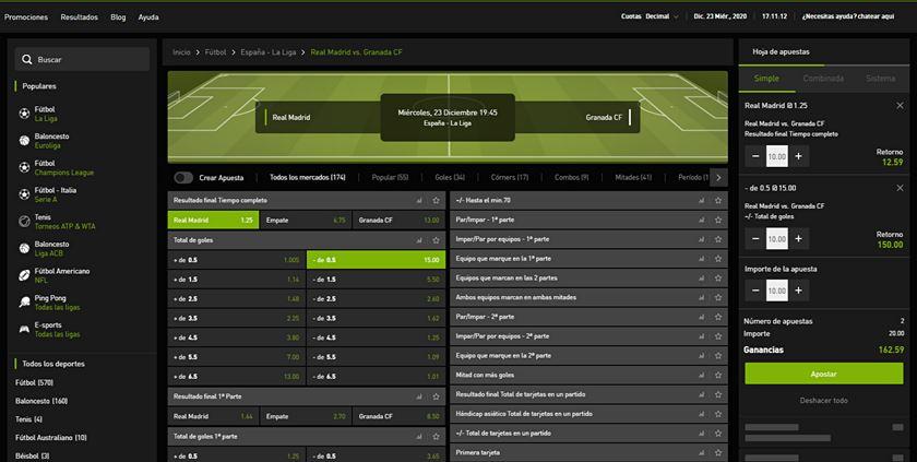 bet777 deportes y mercados