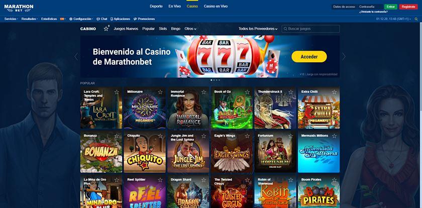 marathonbet casino opiniones