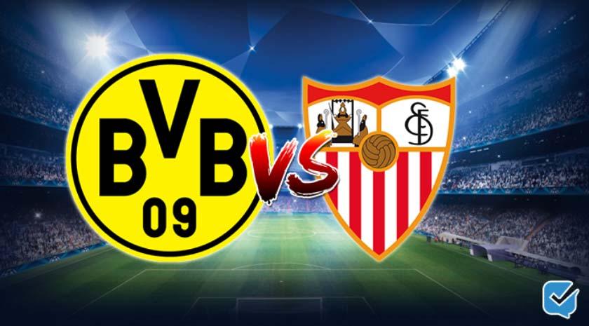 Pronóstico Borussia Dortmund – Sevilla de Champions League | 09/03/2021