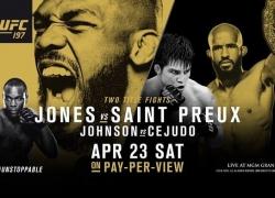 Jon Jones recuperará el título en UFC 197 según bet365