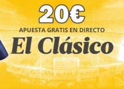 Cómo conseguir y 'asegurar' 20€ gratis en Luckia para El Clásico