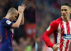 Así cotizan las despedidas de Iniesta y Torres en las casas de apuestas