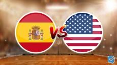 Pronóstico España vs Estados Unidos de Juegos Olímpicos   03/08/2021