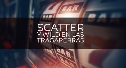 Diferencia entre Scatter y Wild en las tragaperras
